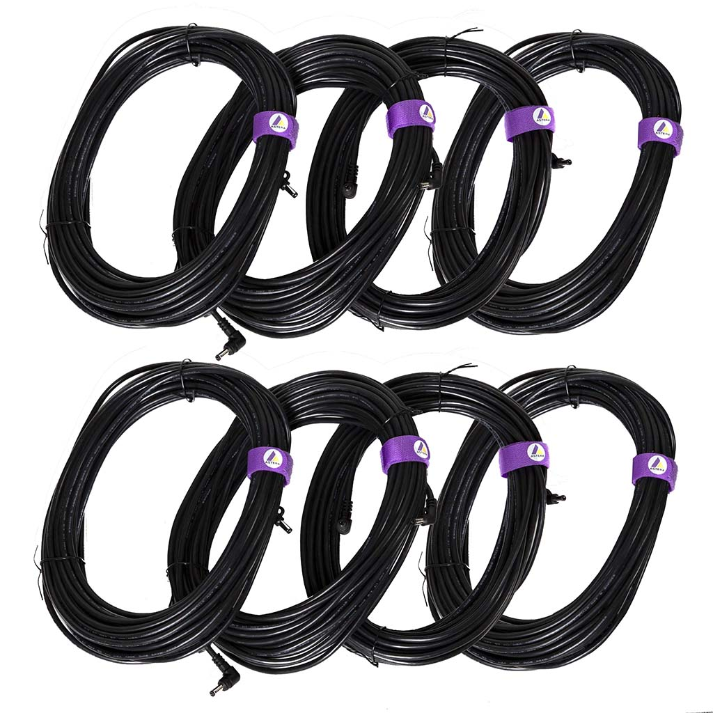 ASTERA 8-Cable Set for Titan Tube Power Box, 15m