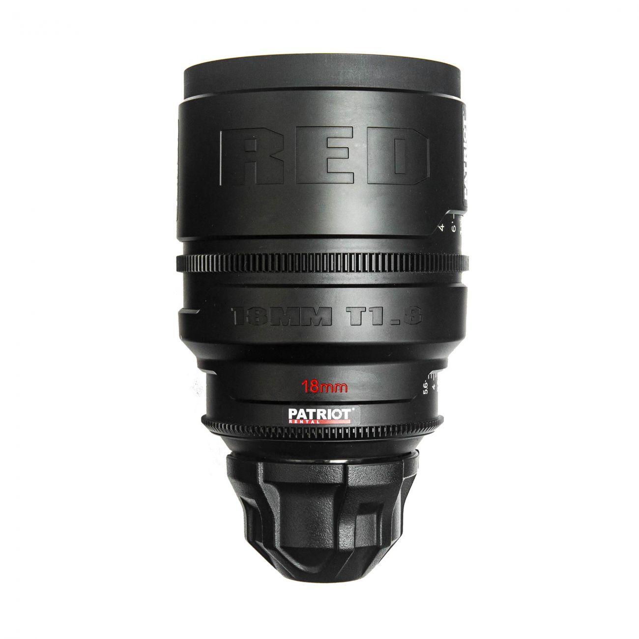 18mm RED PRO PRIME lens T1.8