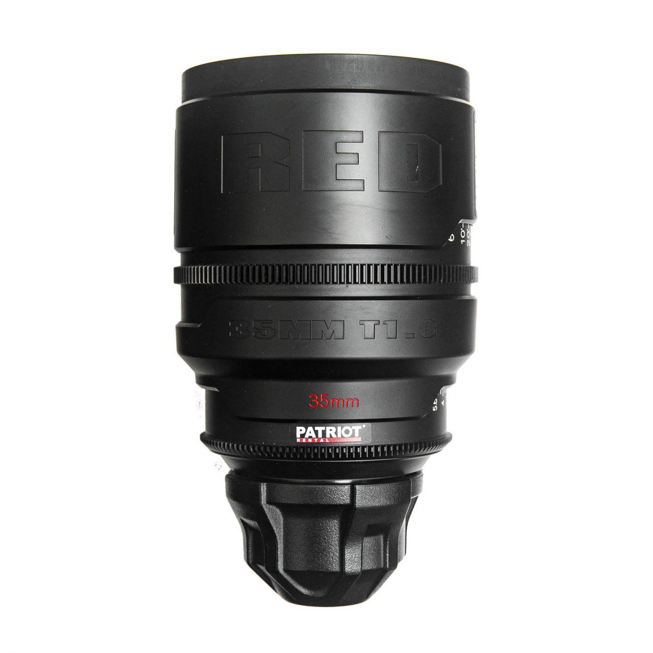 35mm RED PRO PRIME lens T1.8