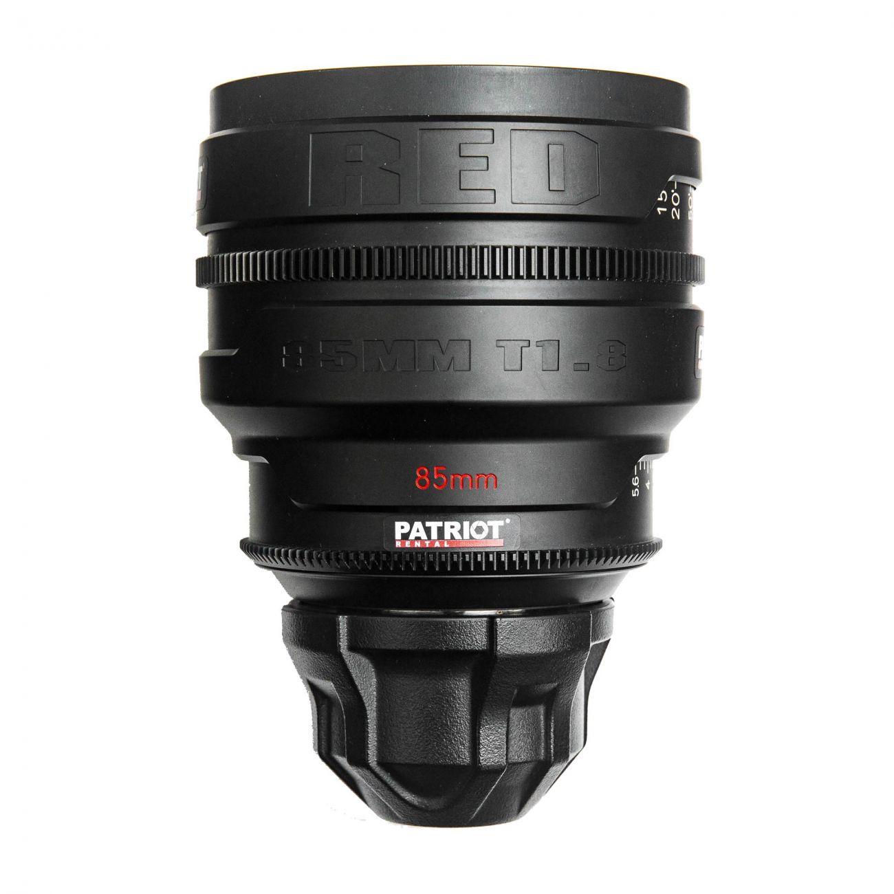 85mm RED PRO PRIME lens T1.8