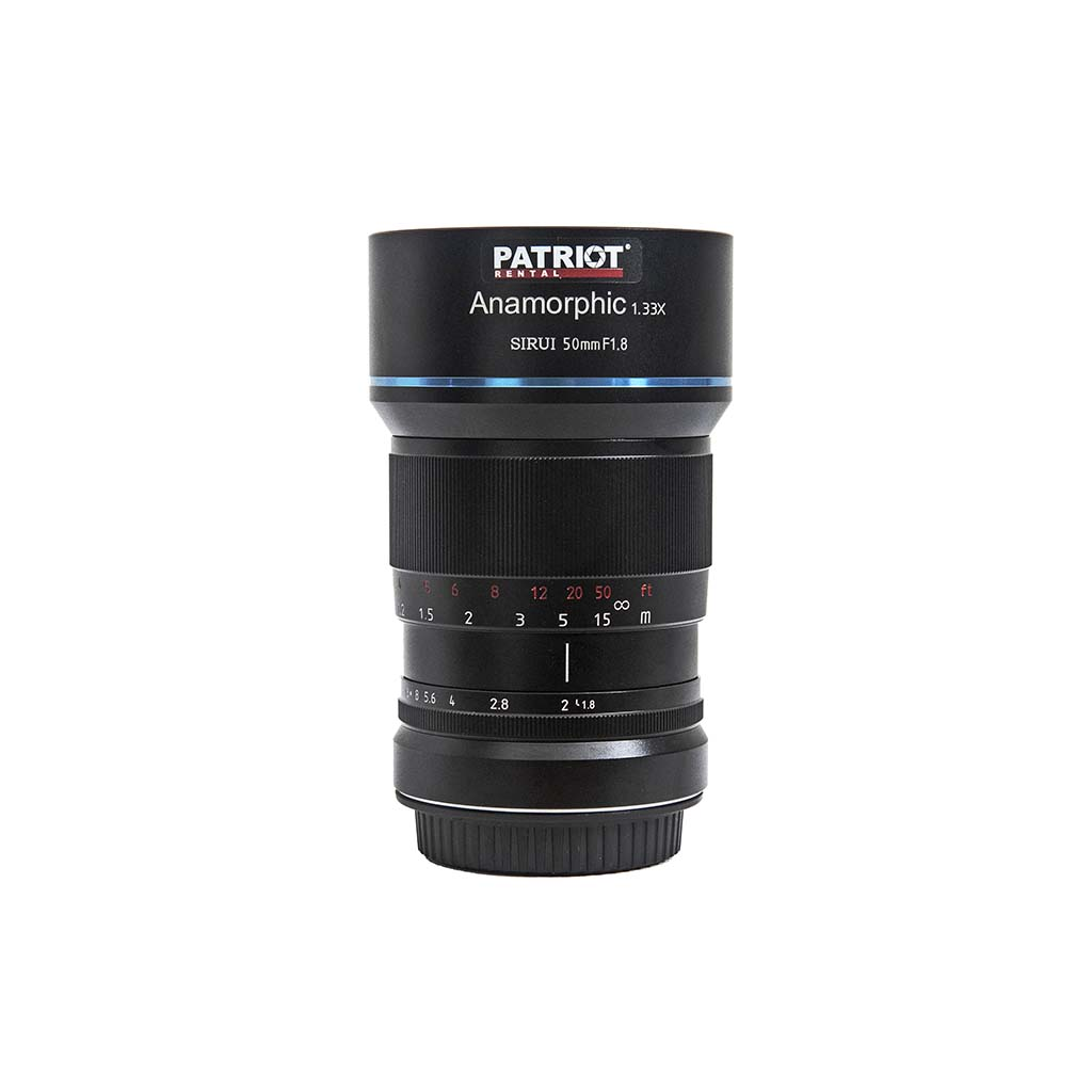 50mm SIRUI ANAMORPHIC 1.33x lens F1.8