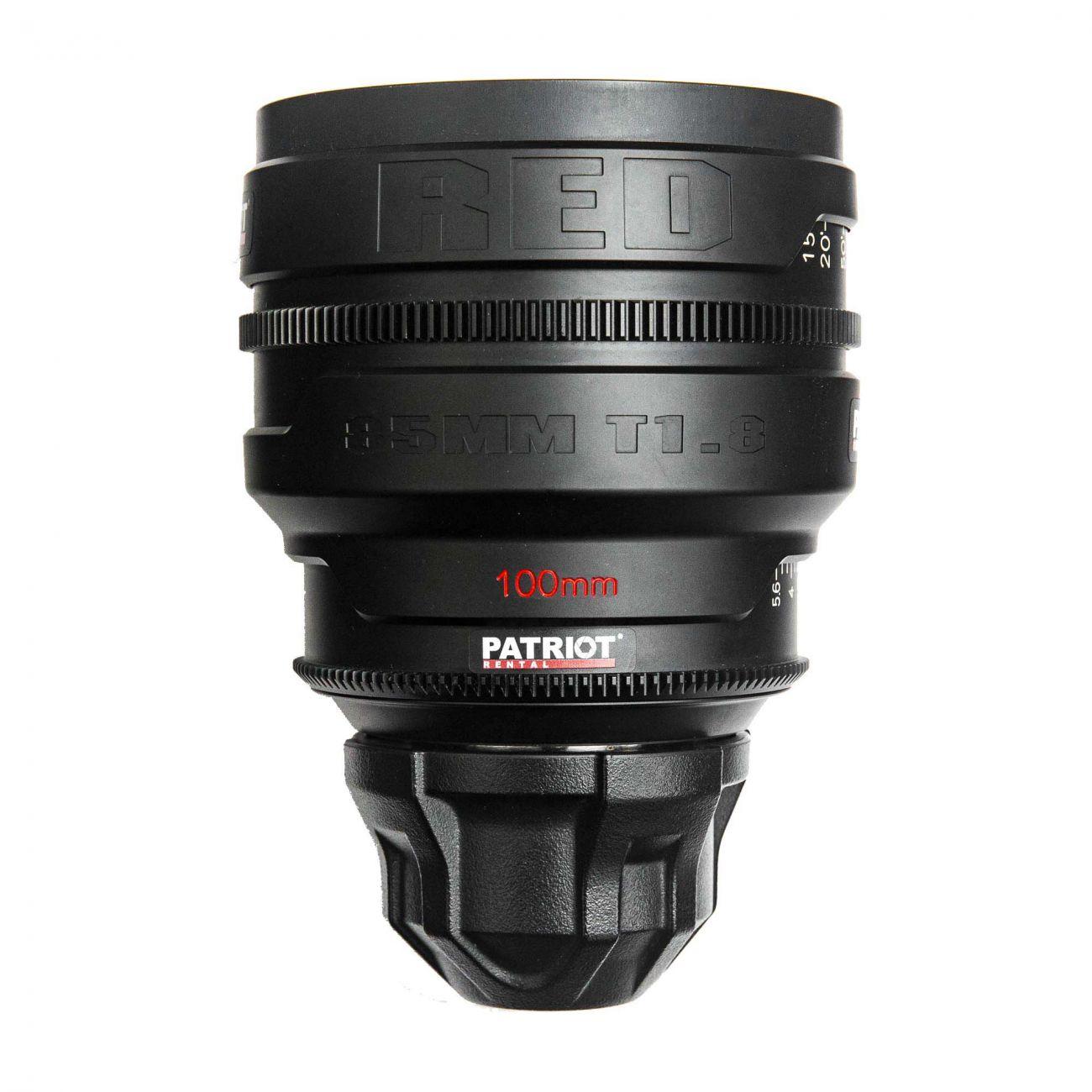 100mm RED PRO PRIME lens T1.8