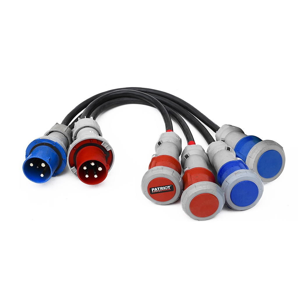 Power Cable Splitters 125A/380V & 125A/220V
