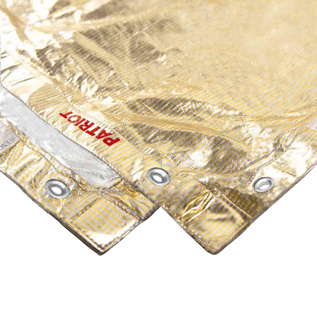 20×20 textile SILVER/GOLD