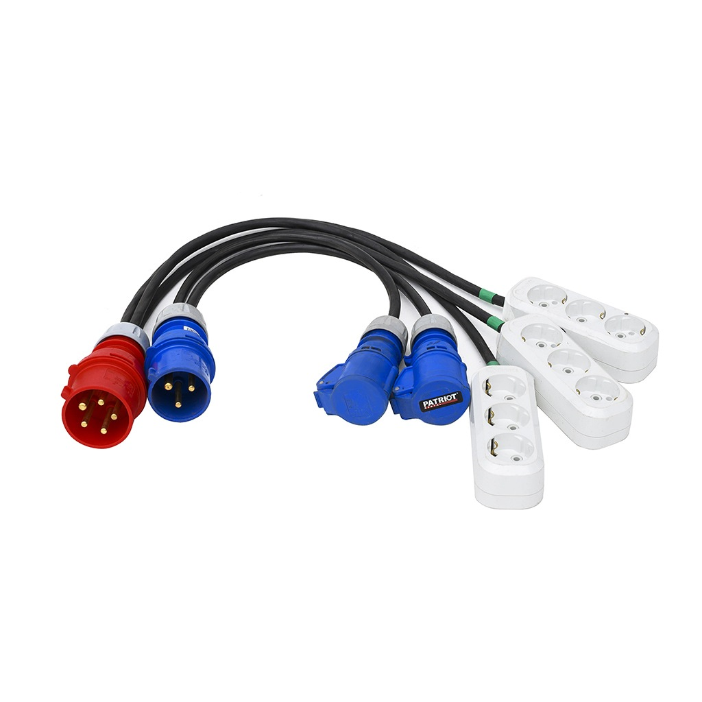 Power Cable Splitters 32A/380V & 32A/220V
