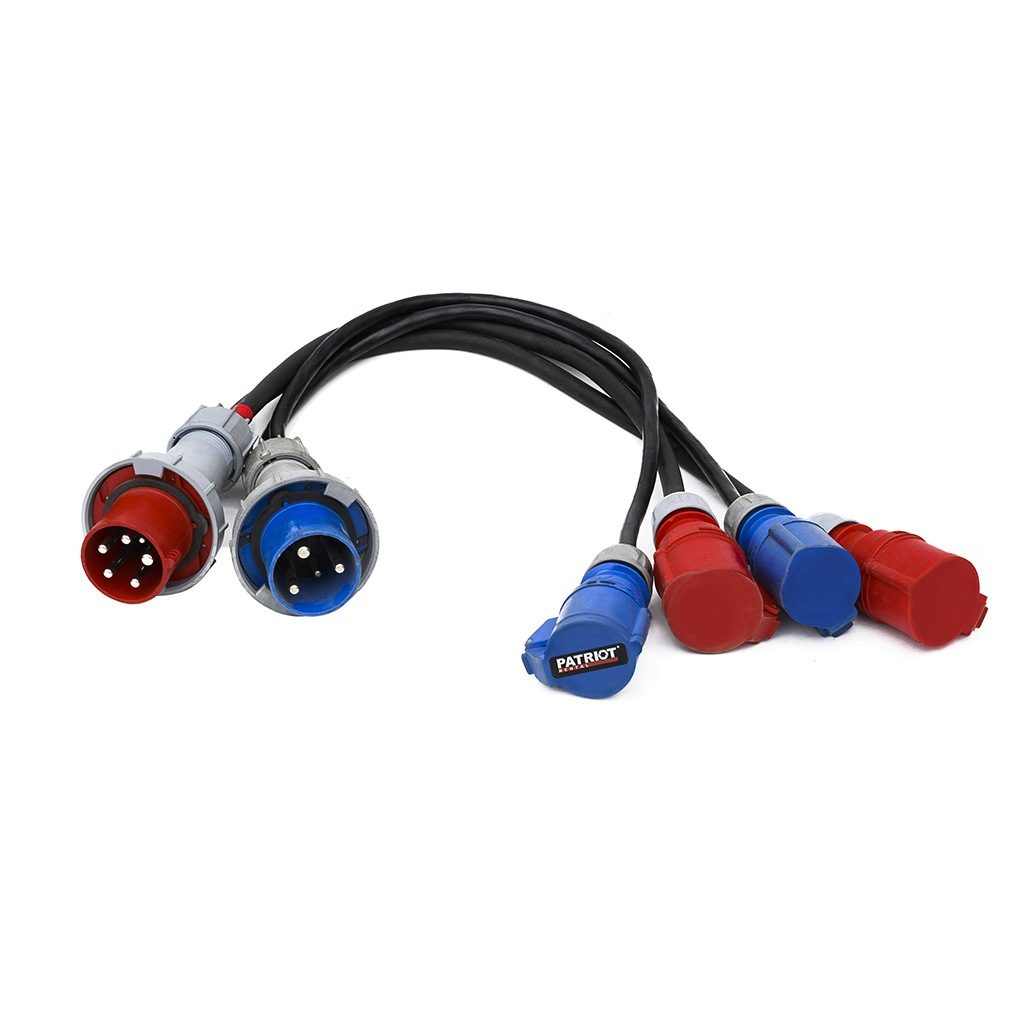 Power Cable Splitters 63A/380V & 63A/220V