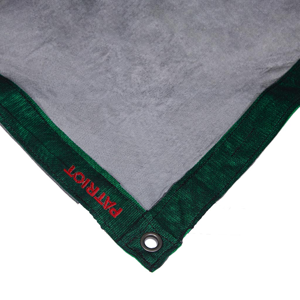 8×8 textile SINGLE SCRIM BLACK