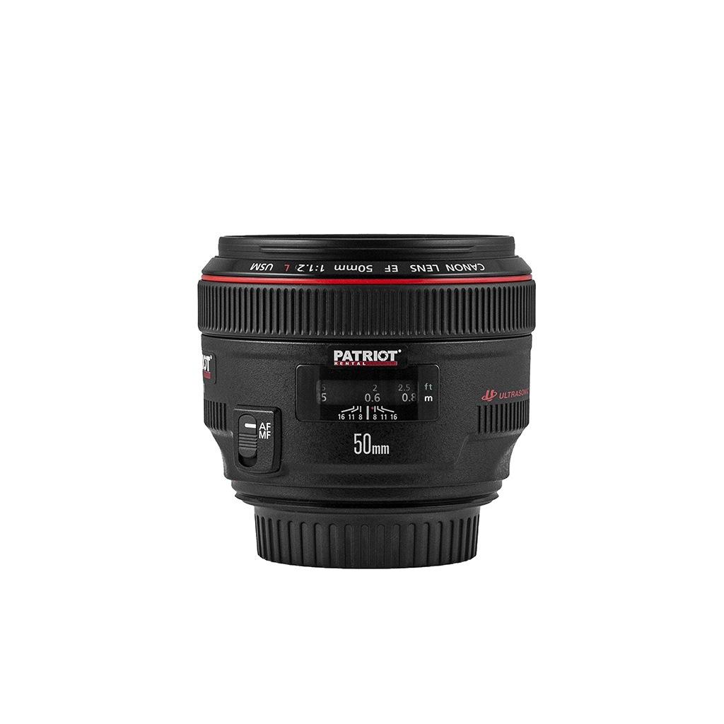 50mm CANON EF USM Lens F1.2