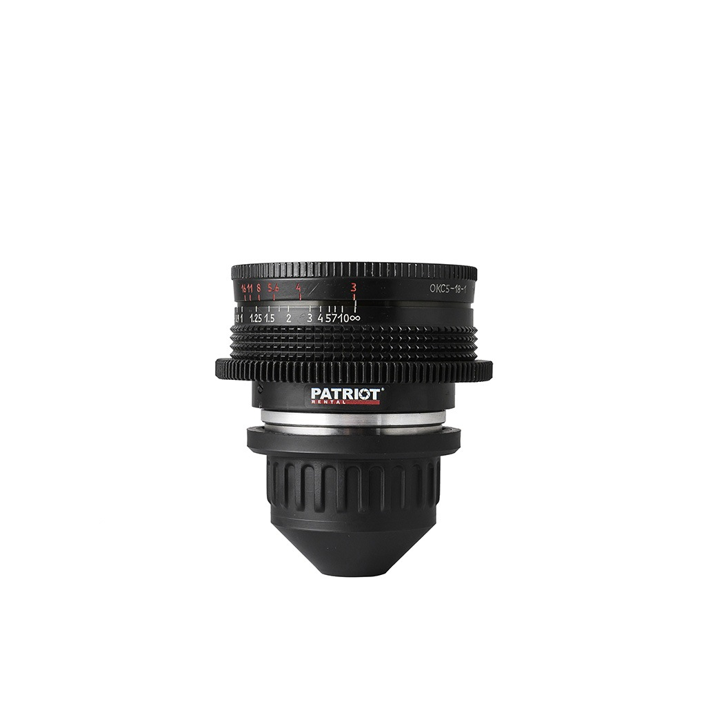18mm LOMO OKC Super Speed lens T3