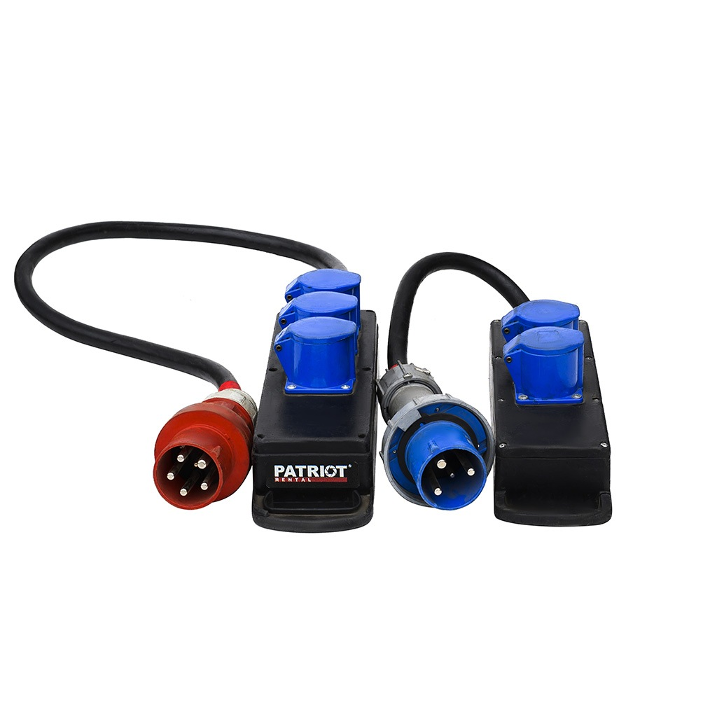 Power Distro Boxes Small 32A/380V & 220V