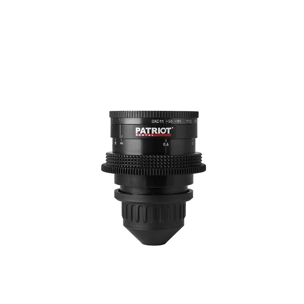 50mm LOMO OKC Super Speed lens T1.4
