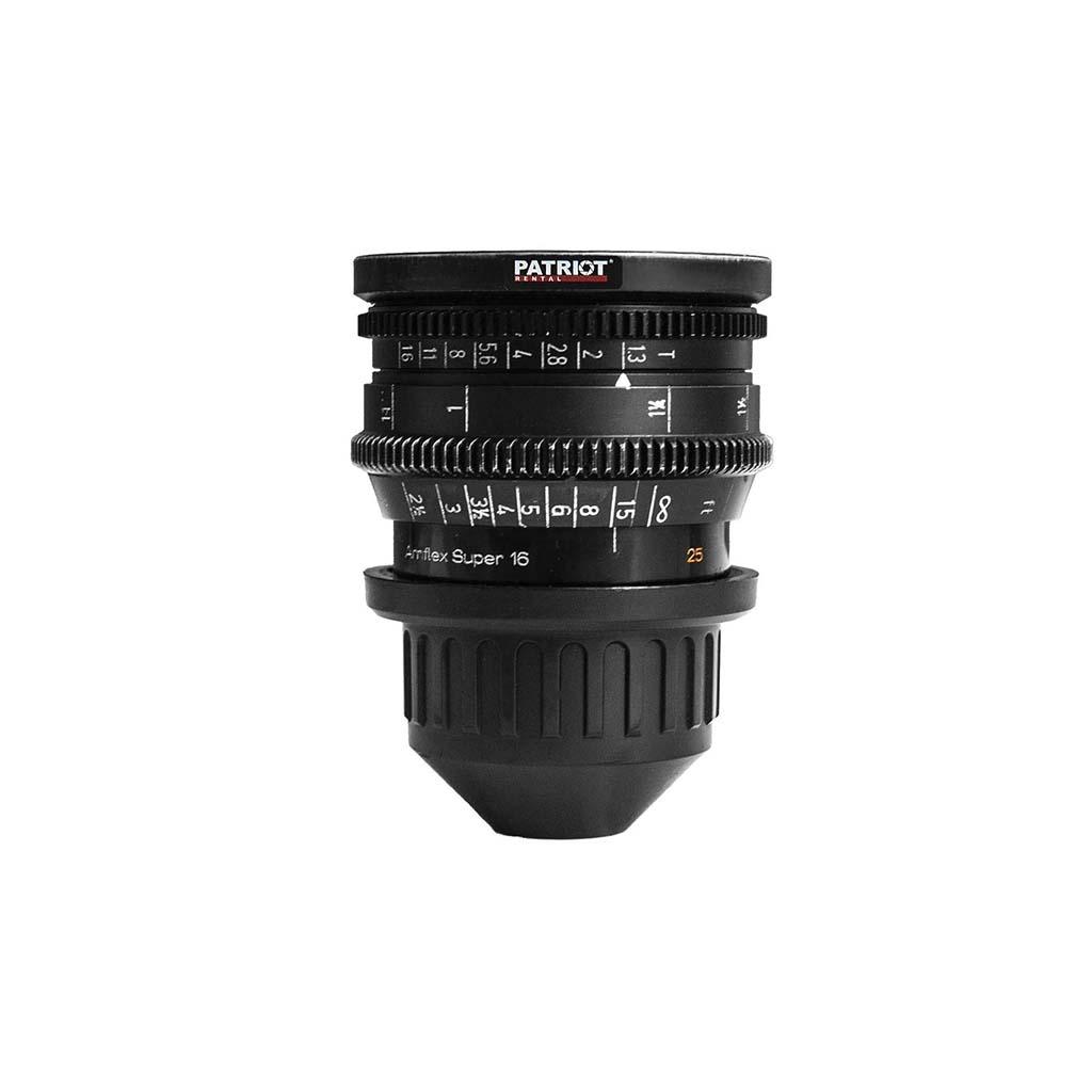 25mm ARRI Zeiss Distagon lens T1.3 S-16mm