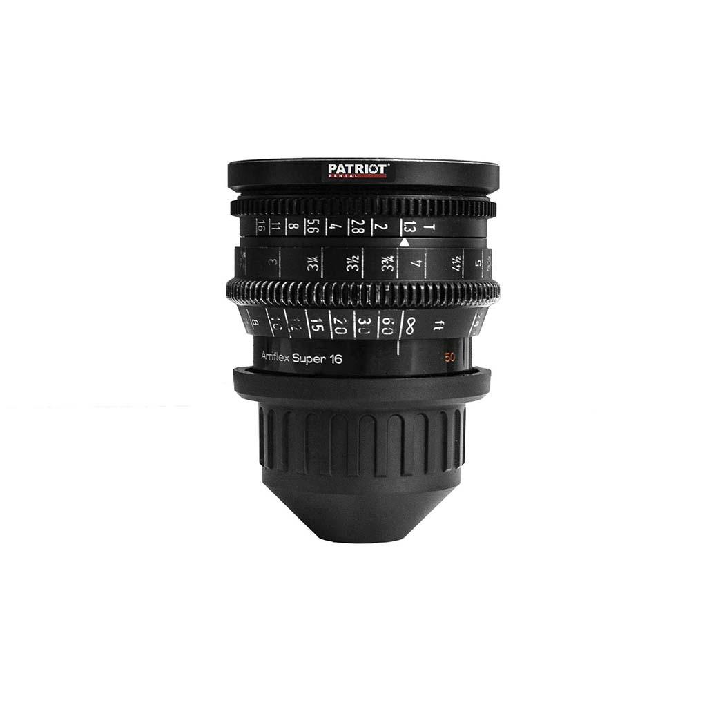 50mm ARRI Zeiss Distagon lens T1.3 S-16mm