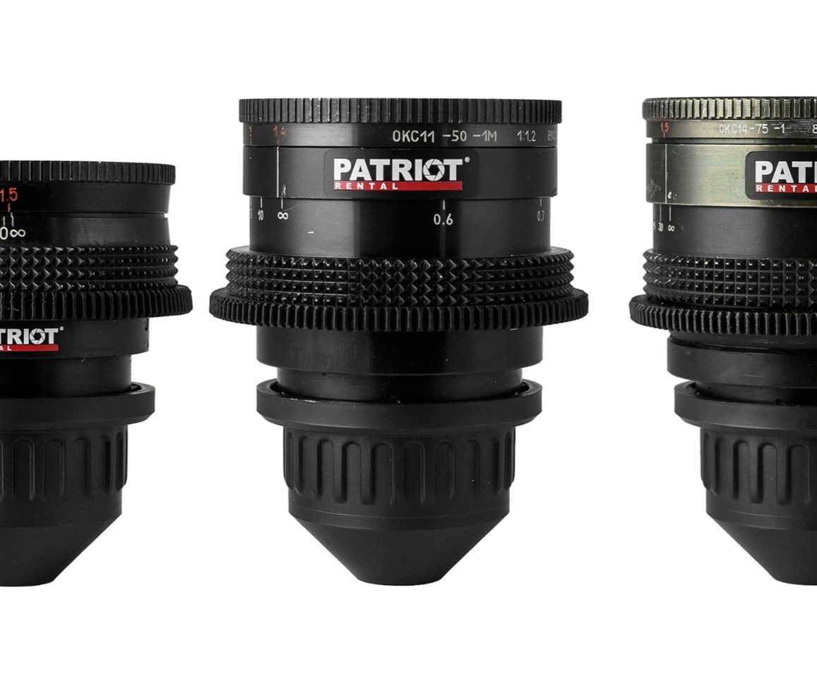 SET LOMO ОКС Lenses T2.2-3.2 28,35,50,75,100,150mm