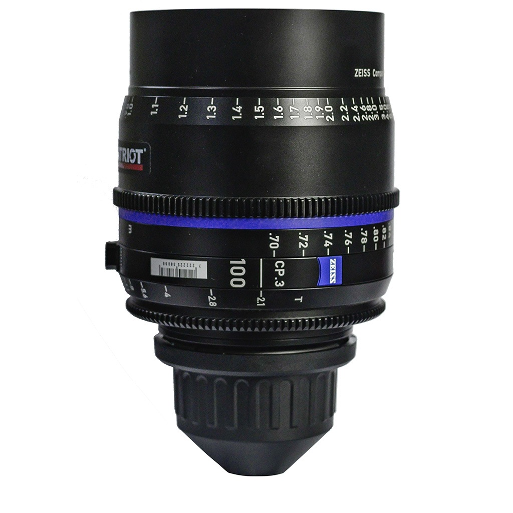 100mm ZEISS COMPACT PRIME CP.3 Lens T2.1