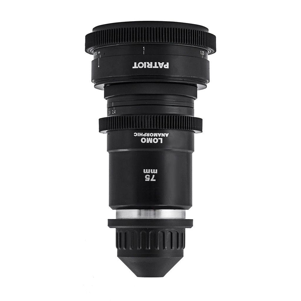 75mm LOMO ANAMORPHIC 2x lens T2.4