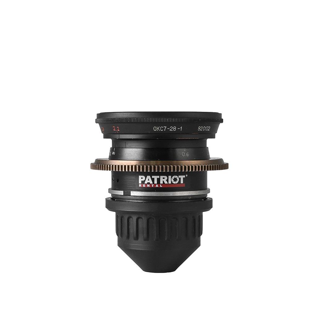 28mm LOMO OKC lens T2.2