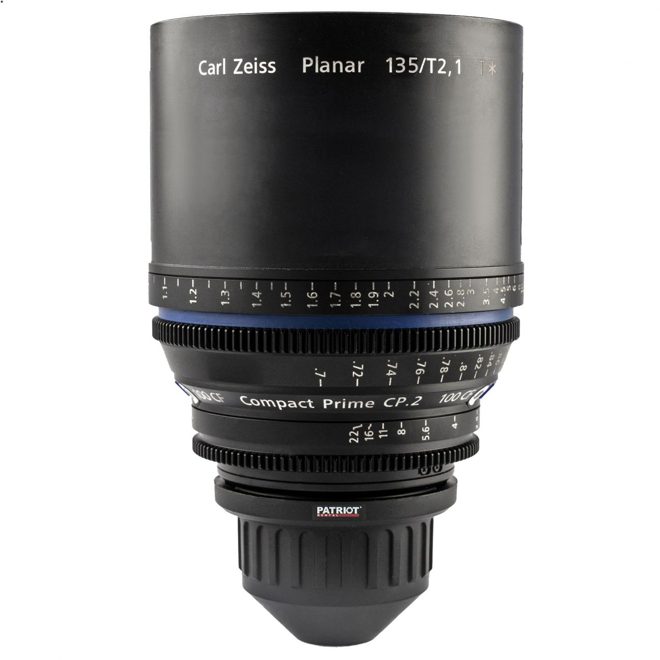 135mm ZEISS COMPACT PRIME CP.2 Lens T2.1