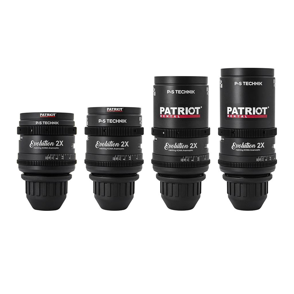 SET KOWA Evolution 2X lenses 40,50,75,100mm