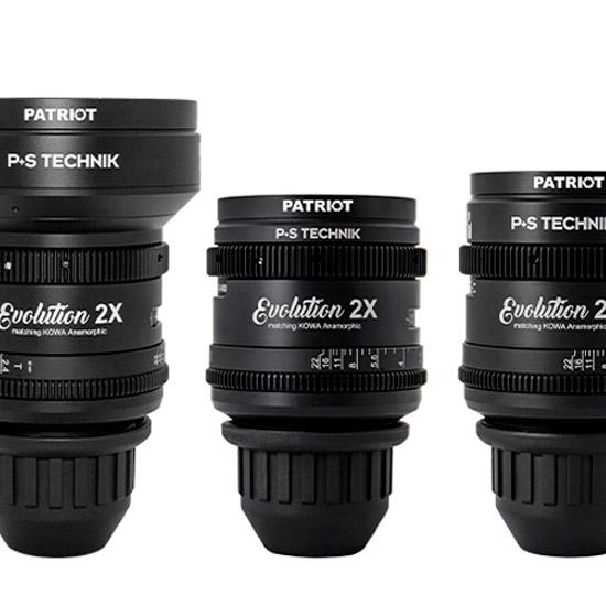 SET KOWA Evolution 2X lenses T2.4-3.2 32,40,50,75,100mm