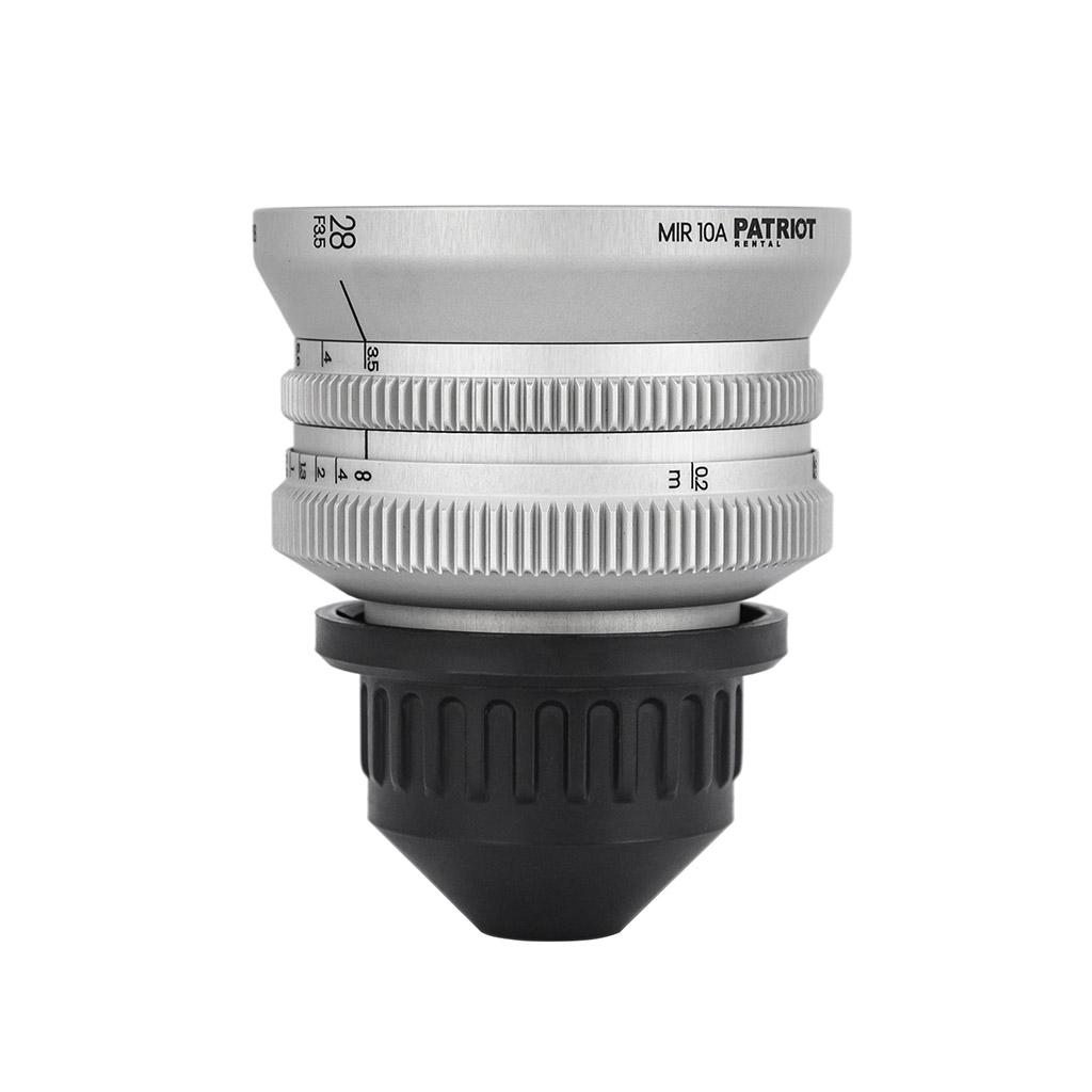 28mm IronGlass MIR 10A Lens F3.5
