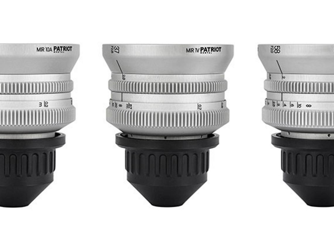 SET IronGlass Lenses F2.0-3.5 28,37,58,85mm