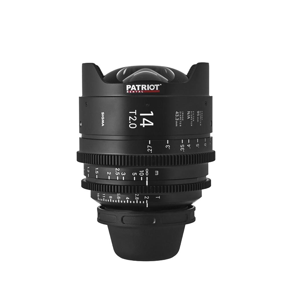 14 mm Sigma FF High-Speed Art Prime Lens T2