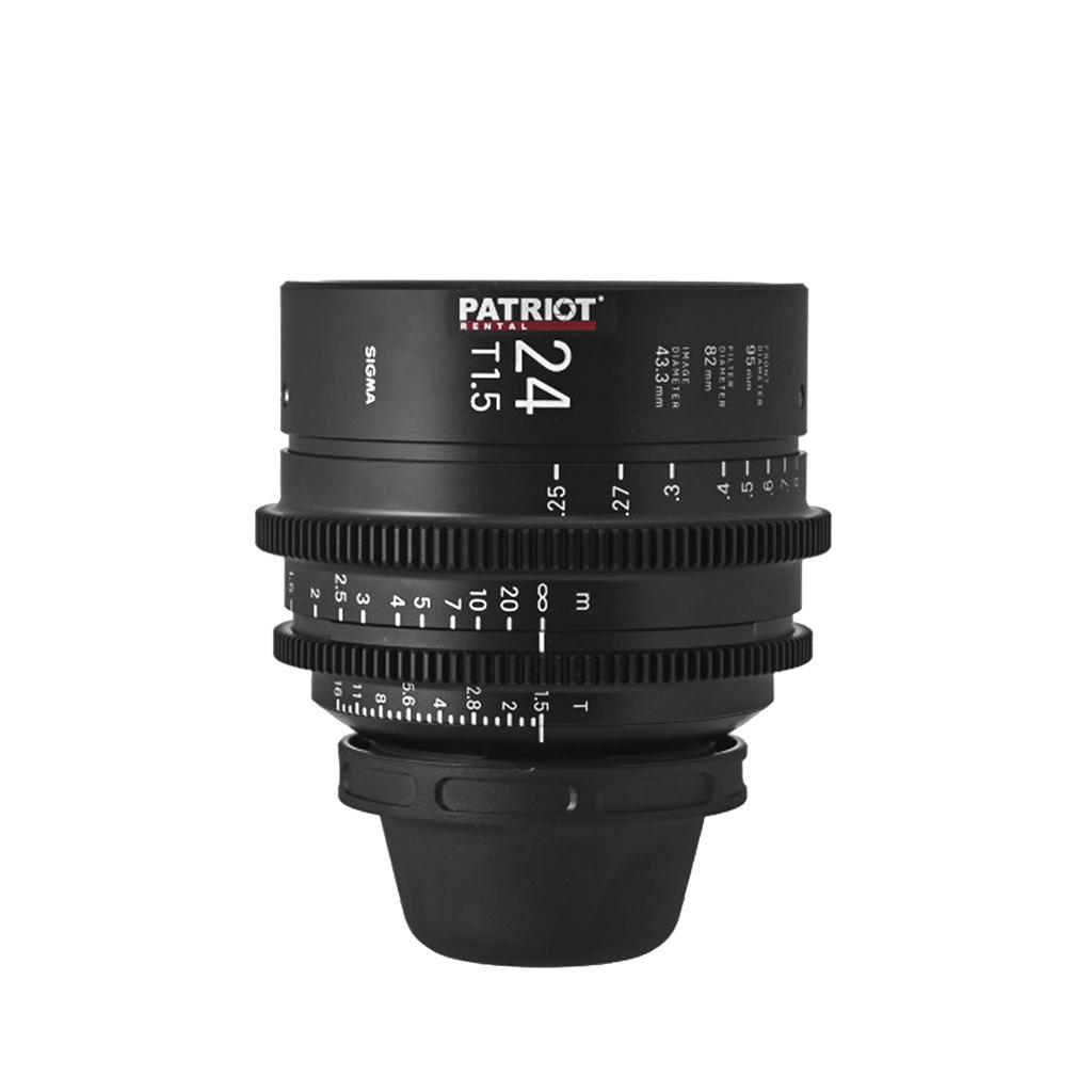 24 mm Sigma FF High-Speed Art Prime Lens T1.5