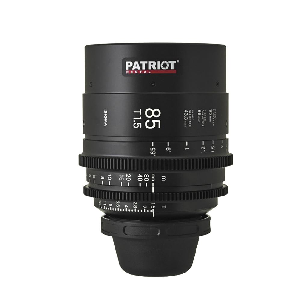 85 mm Sigma FF High-Speed Art Prime Lens T1.5
