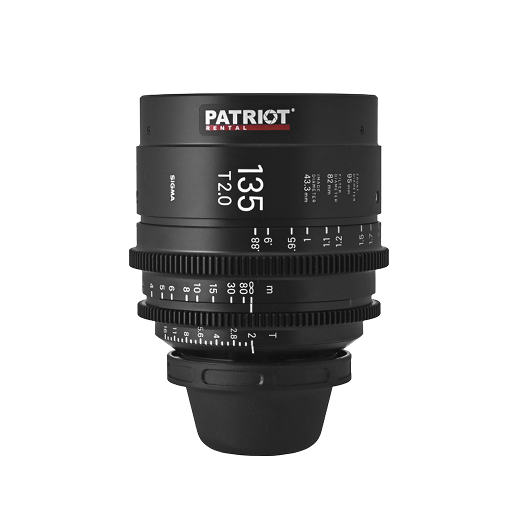 135 mm Sigma FF High-Speed Art Prime Lens T2