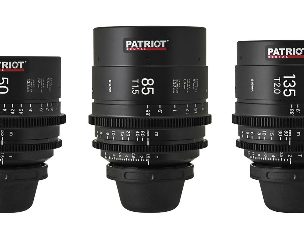 SET Sigma FF High-Speed Art Prime Lenses T1.5-2 14,20,24,35,50,85,135mm