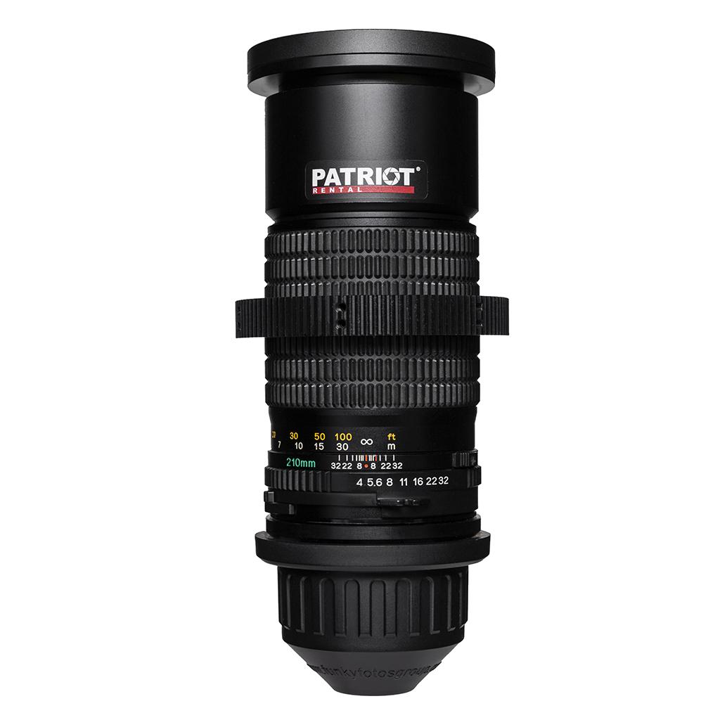 210mm MAMIYA Sekor C Lens F4.0