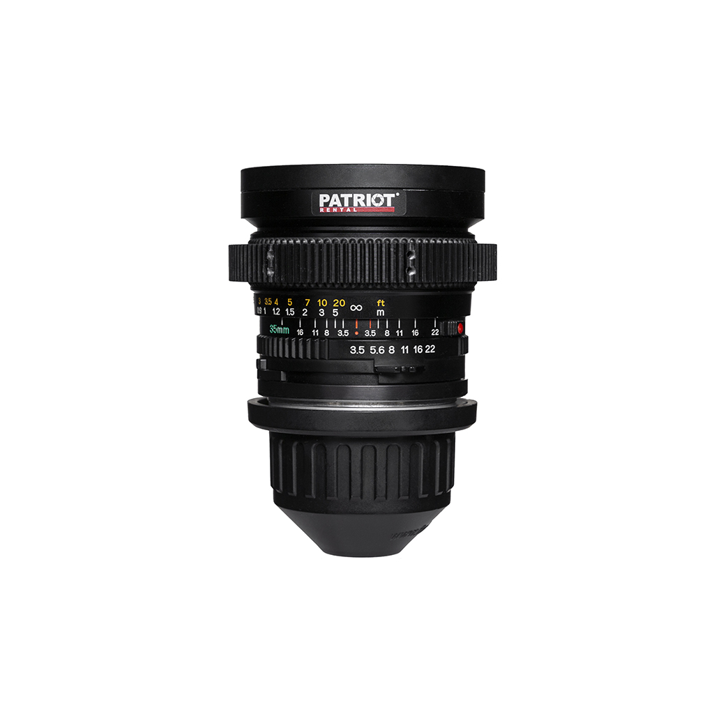 35mm MAMIYA Sekor C Lens F3.5