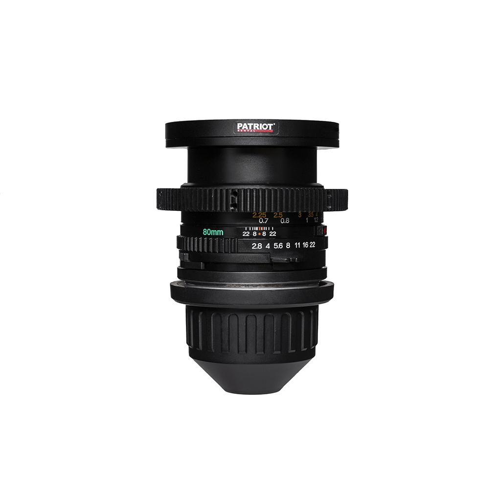 80mm MAMIYA Sekor C Lens F2.8