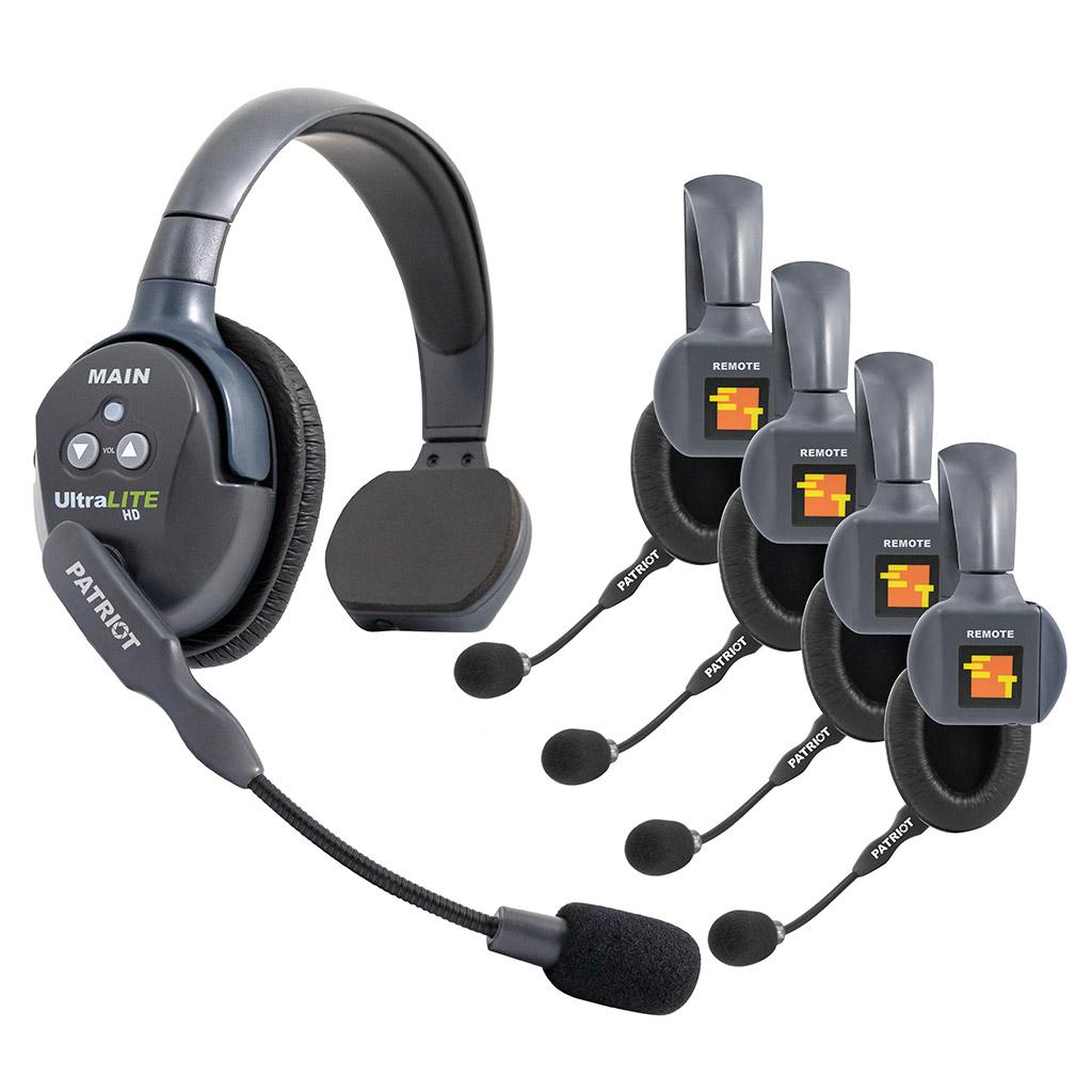 Eartec UL5S 5-Person Full-Duplex Wireless Intercom