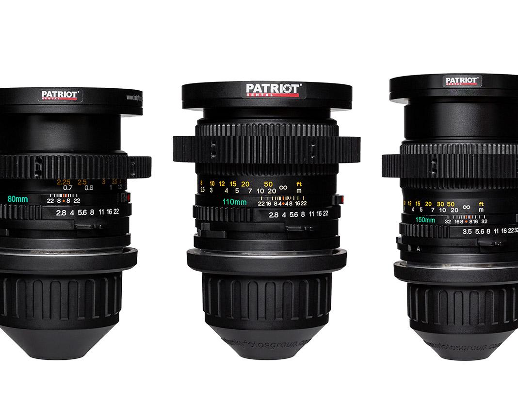 SET MAMIYA Sekor С Lenses F2.8-3.5 35,45,55,80,110,150 mm