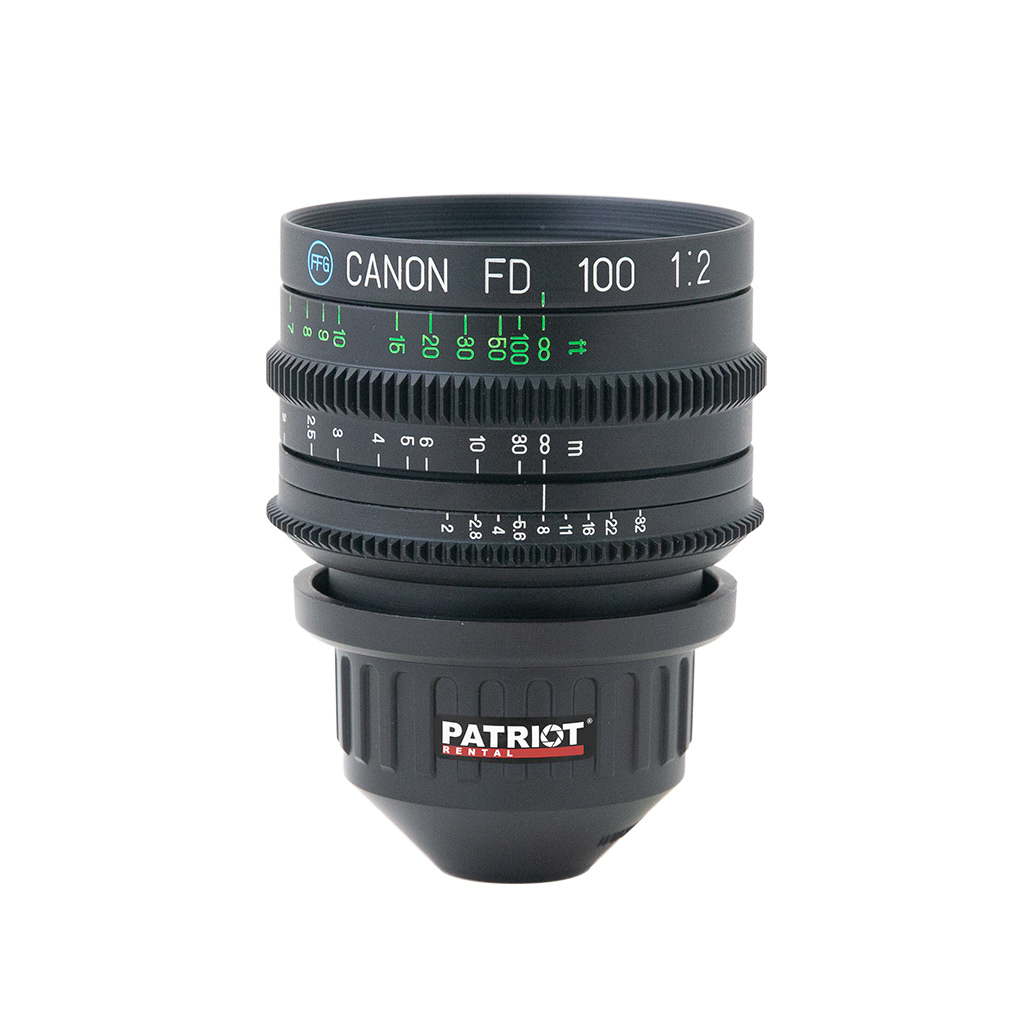100mm CANON nFD Lens F2.0