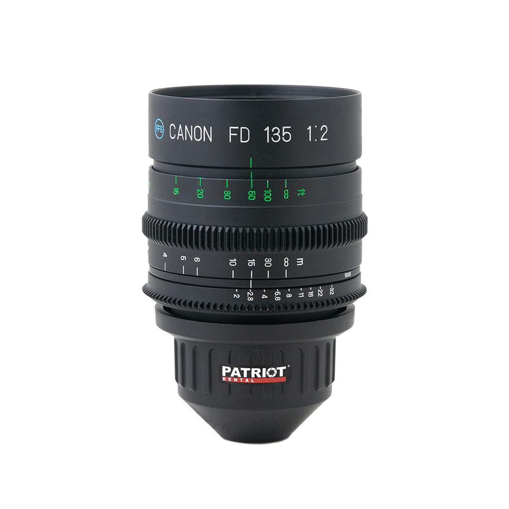 135mm CANON nFD Lens F2.0