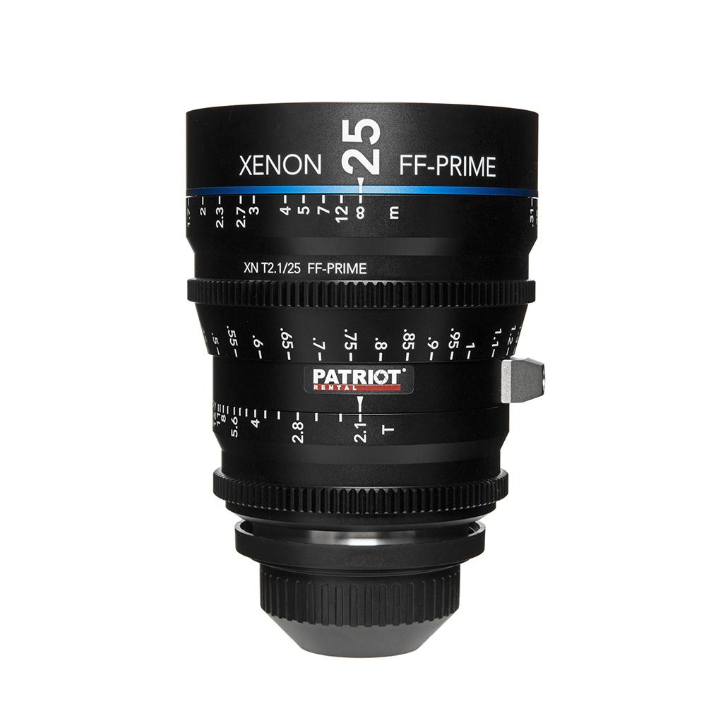 25mm Schneider Xenon FF-Prime Lens T2.1