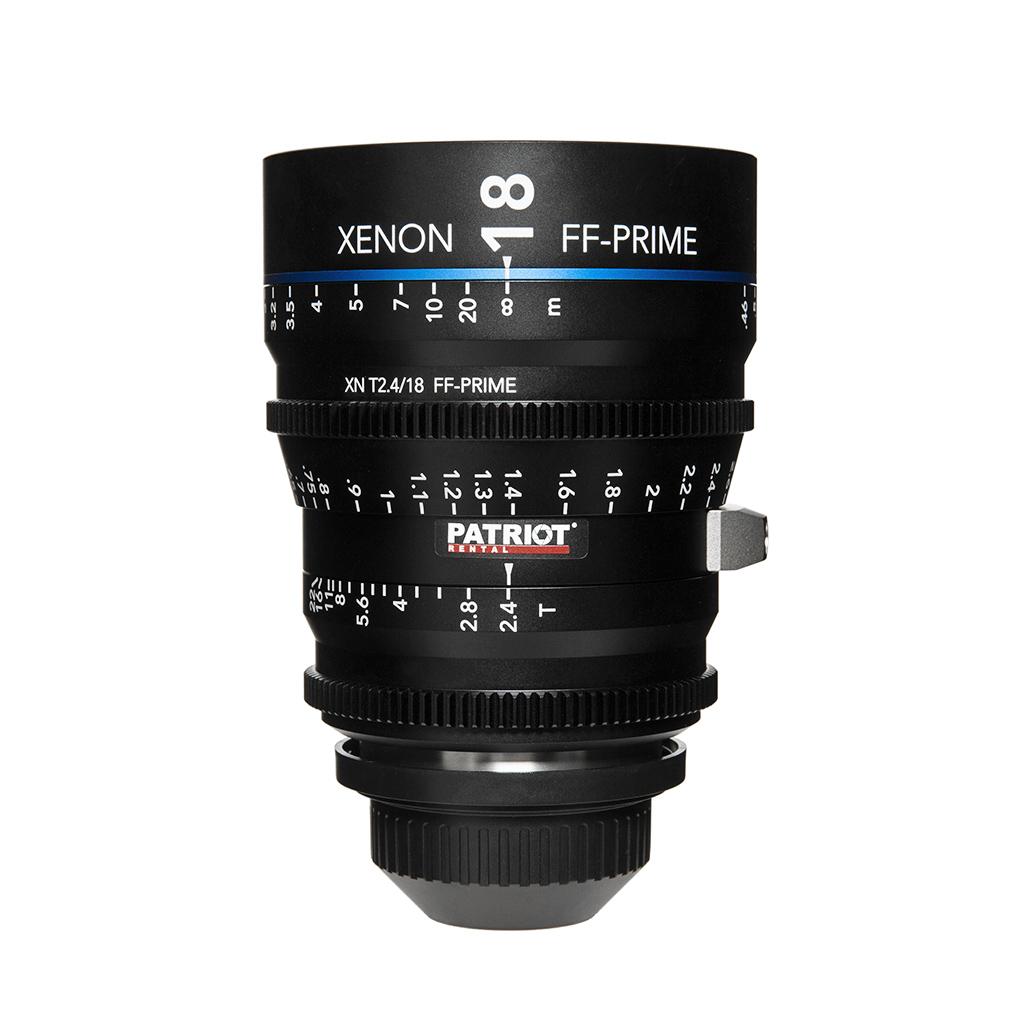 18mm Schneider Xenon FF-Prime Lens T2.4