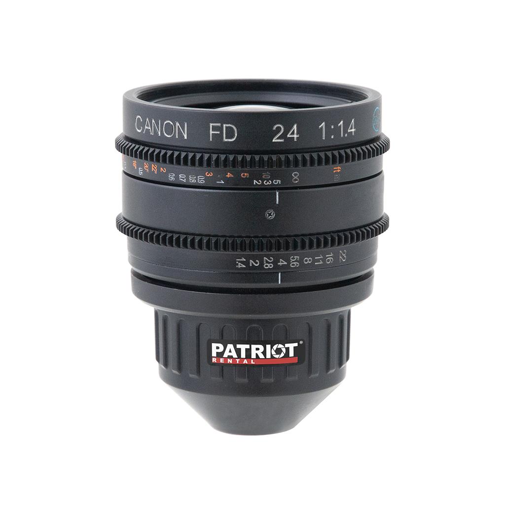 24mm CANON nFD-L Lens F1.4