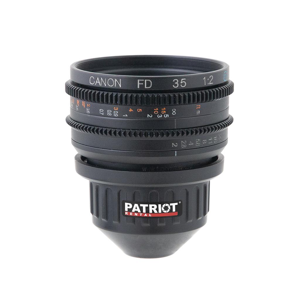 35mm CANON nFD Lens F2.0