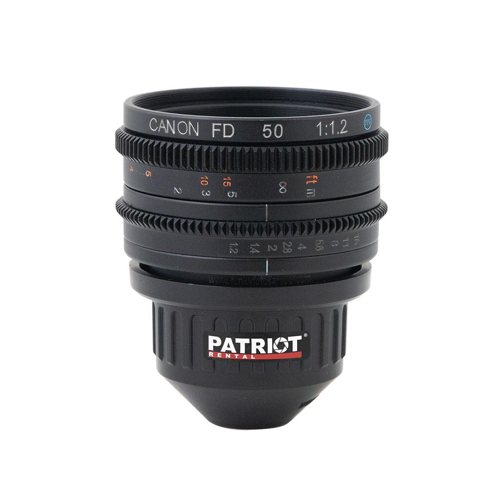 50mm CANON nFD-L Lens F1.2