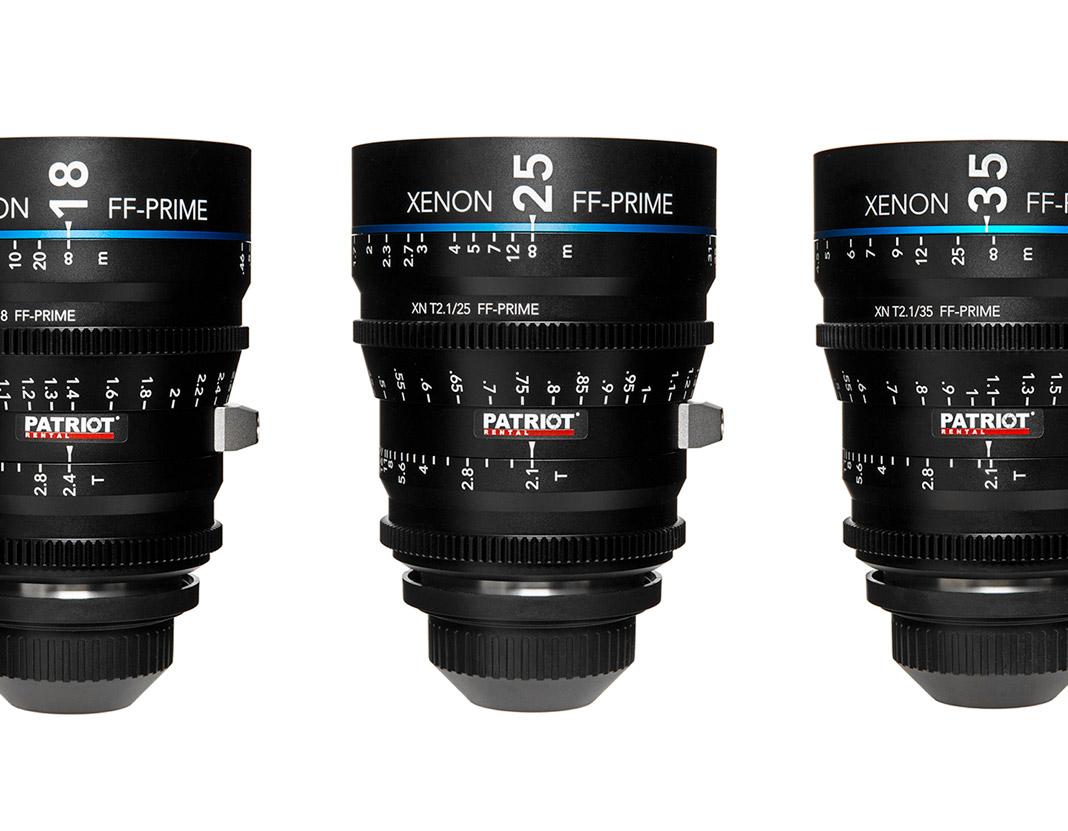 SET Schneider Xenon FF-Prime Lenses T2.1-T2.4 18,25,35, 50,75,100mm