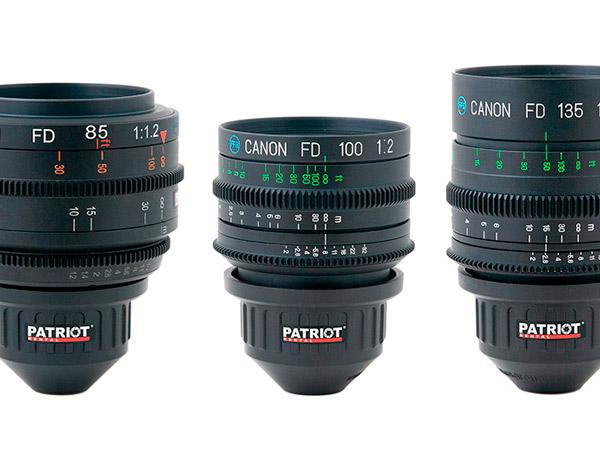 SET CANON nFD/nFD-L Lenses F1.2-2.0 24,35,50,85,100,135mm