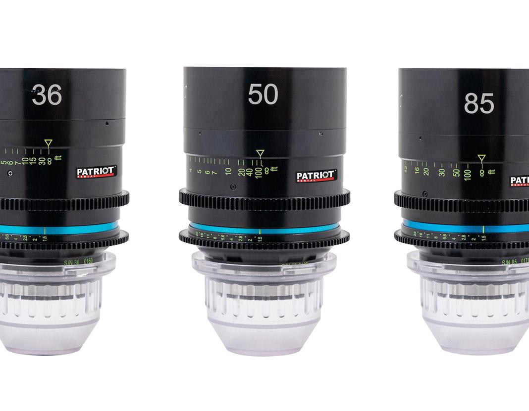 SET Celere HS Prime Lenses T1.5 18.5,25,36,50,85mm