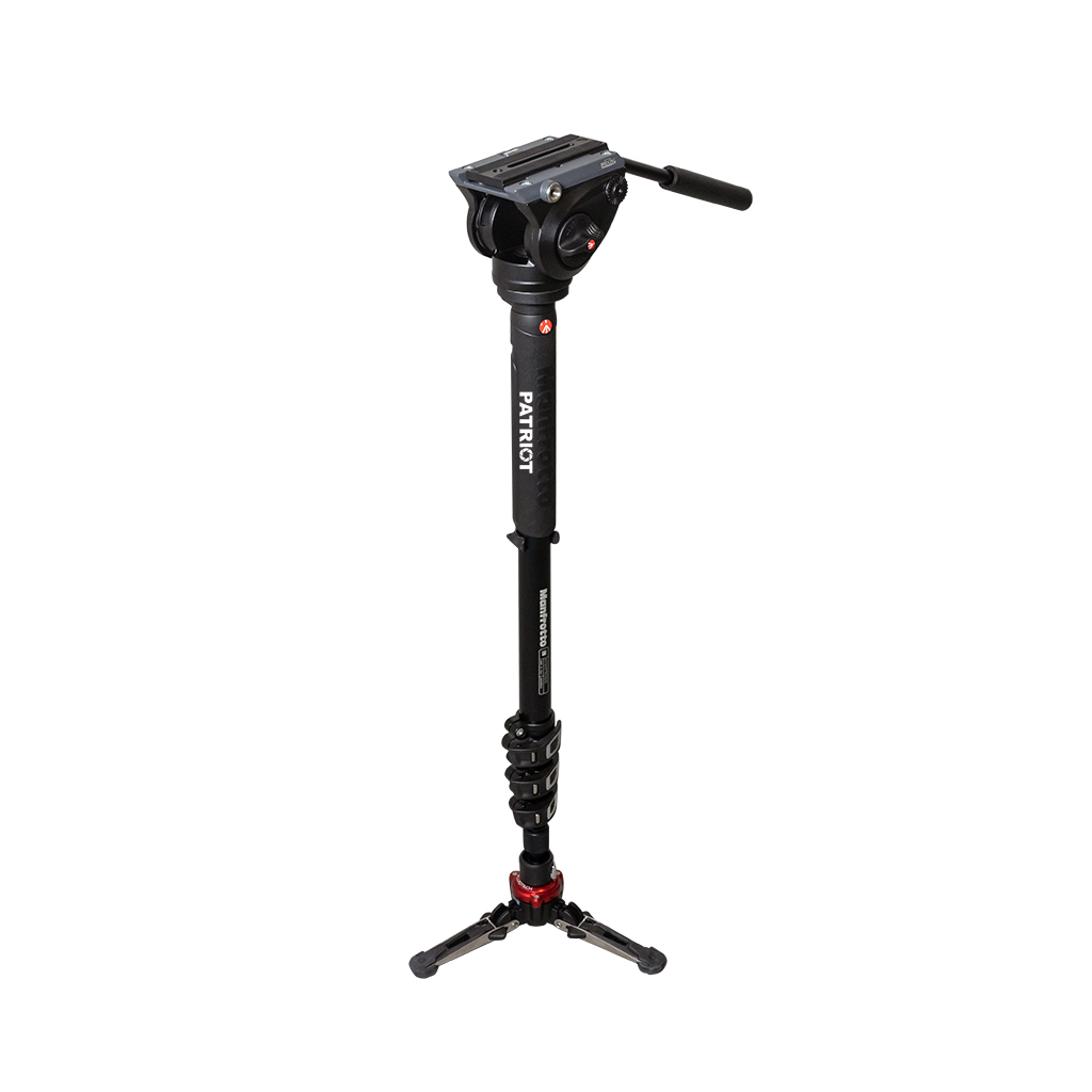 Manfrotto XPRO Video Monopod with Fluid Video Head